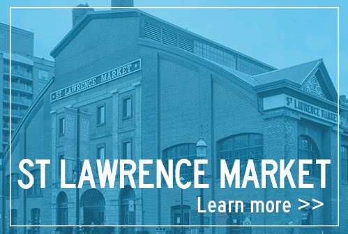 Food tour of St Lawrence Market in Toronto