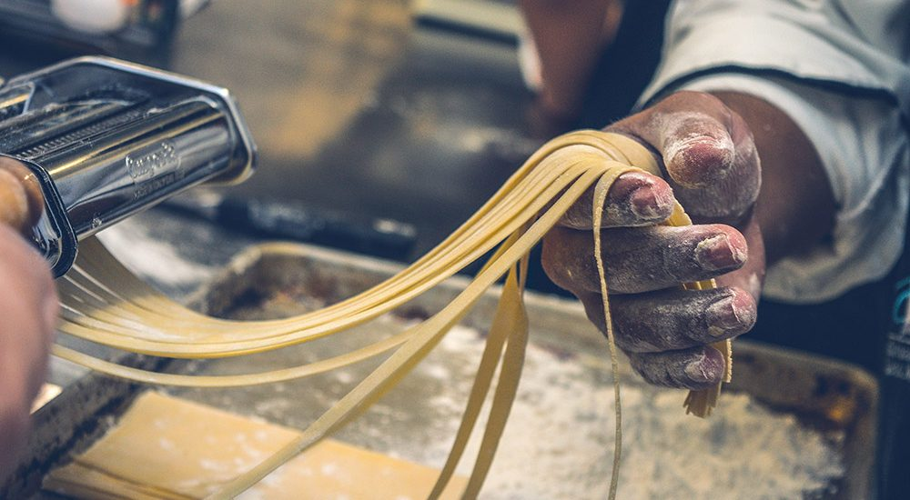 Making fresh pasta in Little Italy